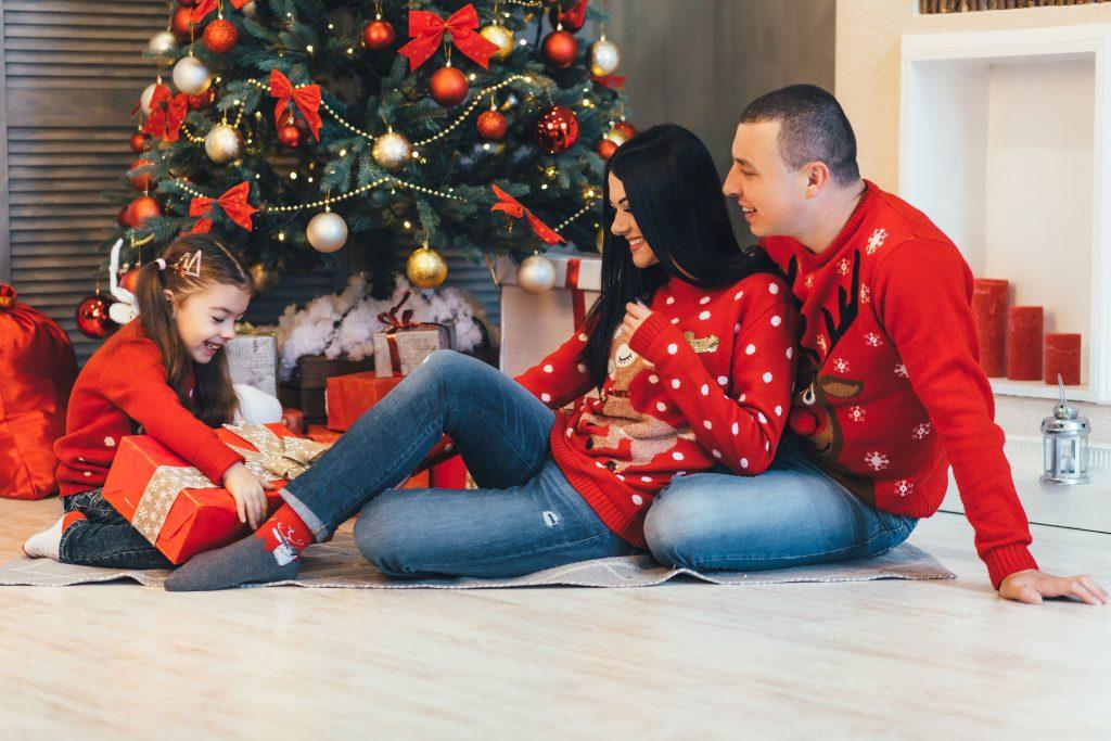 Lustige Weihnachtspullover 2018