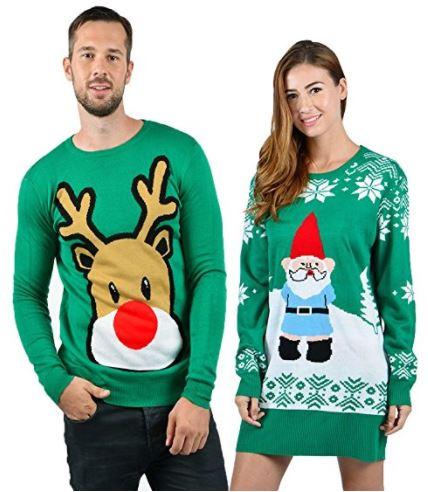Pärchen Weihnachtspullover
