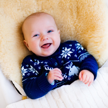 Weihnachtspullover für Babies