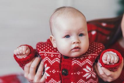 Weihnachtspullover für Babys