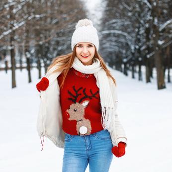 Weihnachtspullover für Frauen 2018