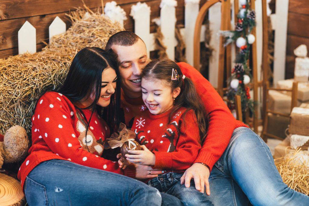 Weihnachtspullover für Kinder