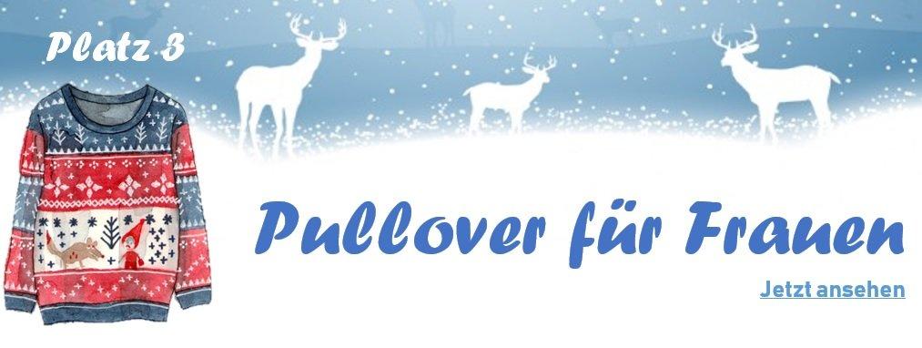 Weihnachtspullover für Frauen - Banner