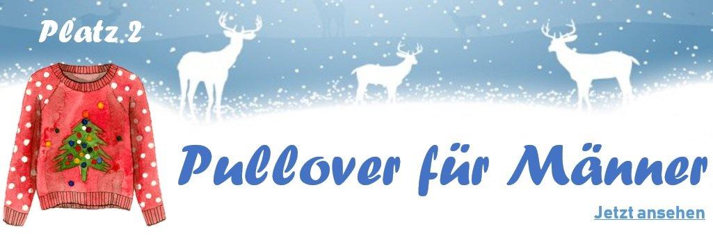 Weihnachtspullover für Männer - Banner