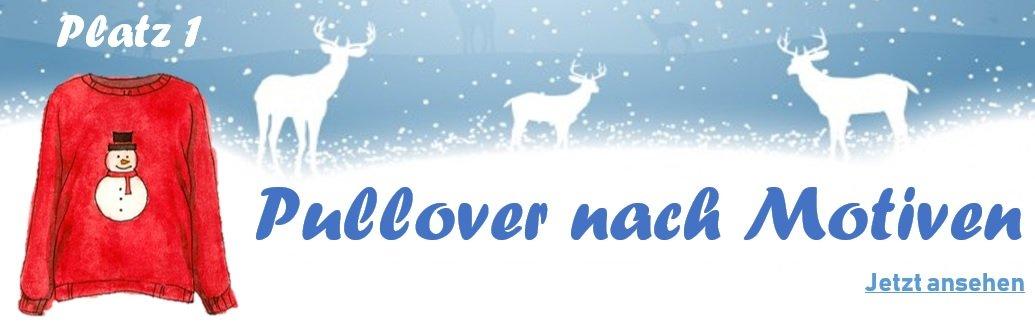 Weihnachtspullover nach Motiven - Banner